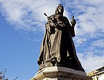 Neville Street: Queen Victoria Statue (Sir George Frampton) - Southport